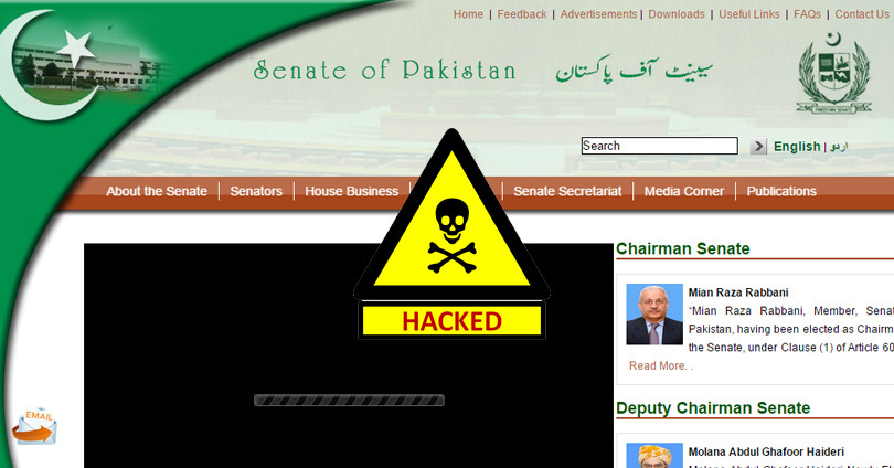 Senate Website HACKED - 'State' of our Cyber Security