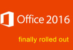 Office-2016 rolled out