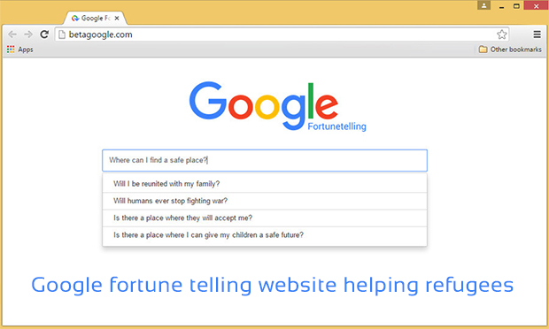 google fortune telling website