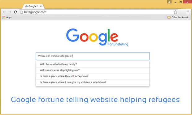 google fortune telling website