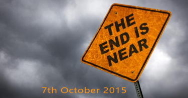7th-october end of earth